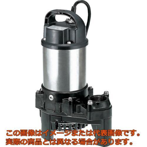 最終値下げ 40PSF2.4 ツルミ 樹脂製汚水用水中うず巻ポンプ 60HZ  60Hz 60HZ:工具箱 店-DIY・工具
