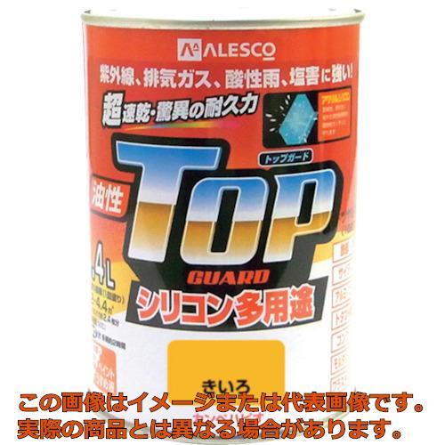 業務用 オレンジブック掲載商品 販売実績No.1 KANSAI 1190554 カンペ 油性トップガード0.4Lきいろ 人気上昇中