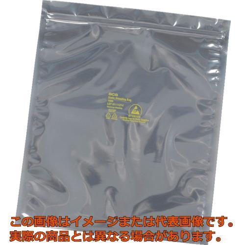 SCS 静電気シールドバッグ ジップトップタイプ381X457mm  100枚入 3001518