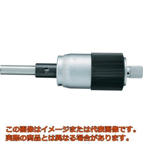 SK マイクロメータヘッド 測定範囲0~25mm ストレート 1004030