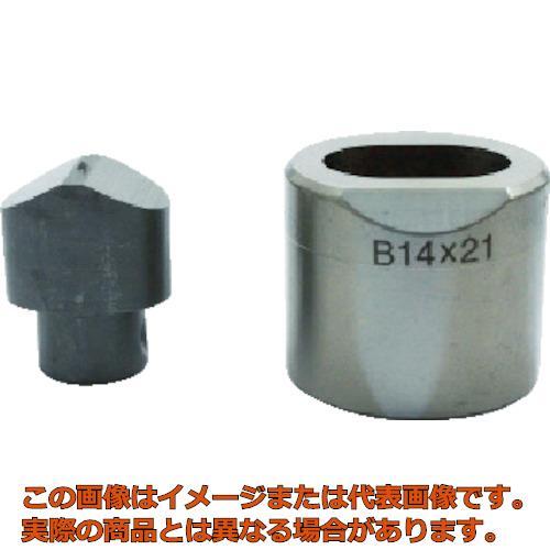 育良 フリーパンチャー替刃 IS-BP18S・IS-MP18LE用(51615) 10X15B