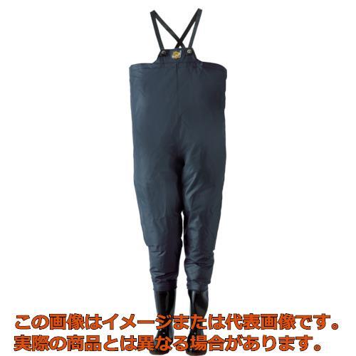 ロゴス クレモナ水産 胴付き長靴 鉄紺 28.0cm 10068280
