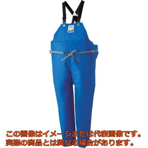 ロゴス マリンエクセル 胸当て付きズボン膝当て付きサスペンダー式 ブルー 3L 12063150