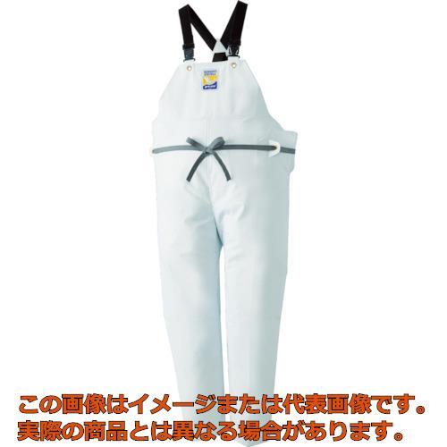 ロゴス マリンエクセル 胸当て付きズボン膝当て付きサスペンダー式 ホワイト L 12063612