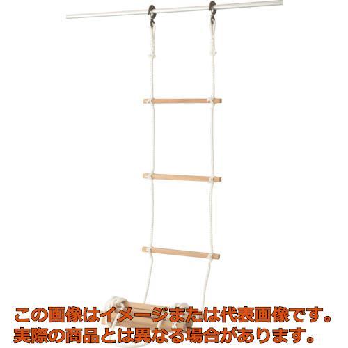高木 避難用縄梯子12mm×7m 290102