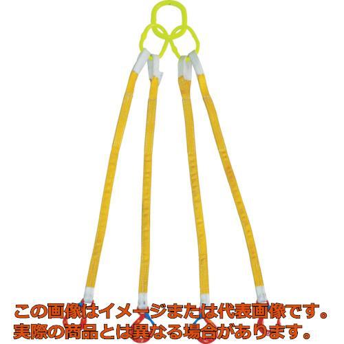 大洋 4本吊 インカリフティングスリング 1.6t用×2m 4ILS1.6TX2