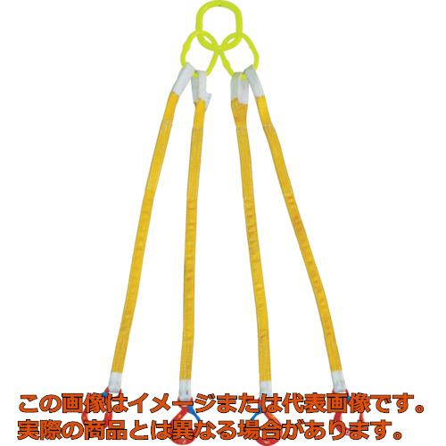 大洋 4本吊 インカリフティングスリング 3.2t用×1m 4ILS3.2TX1