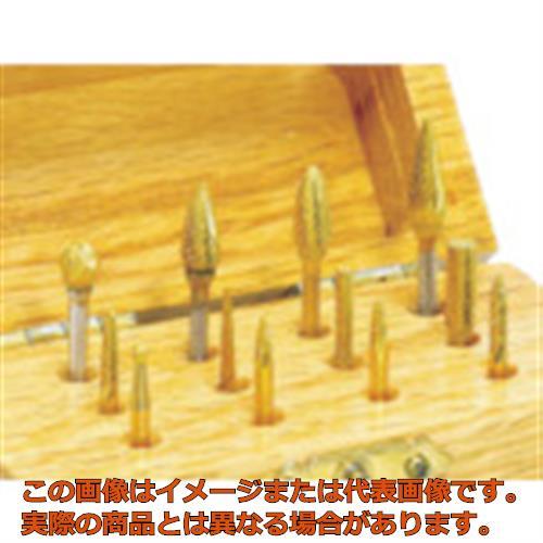ナカニシ チタン超硬カッターセット (1S(袋)=12本入) 28111