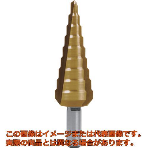 RUKO 3枚刃ステップドリル 20mm チタン 101351T