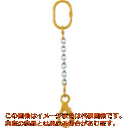 象印 チェーンスリング100(アイタイプ)荷重2.5t線径10.0mmL1.5m 1MFFSHE10