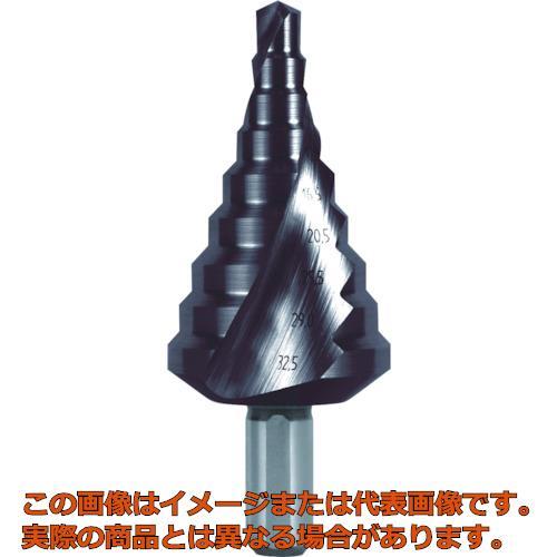 RUKO 2枚刃スパイラルステップドリル 38.5mm チタンアルミニウム 101091F