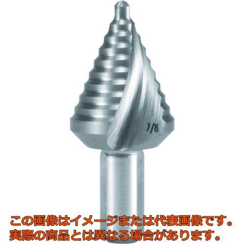 RUKO 2枚刃スパイラルステップドリル 7/8 コバルトハイス 101704E