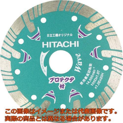HiKOKI ダイヤモンドカッター 180mmX25.4 (波形) プロテクタ 00324703