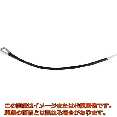 高木 メジャーロープ 両端シンブル加工 6mmX100M 366604