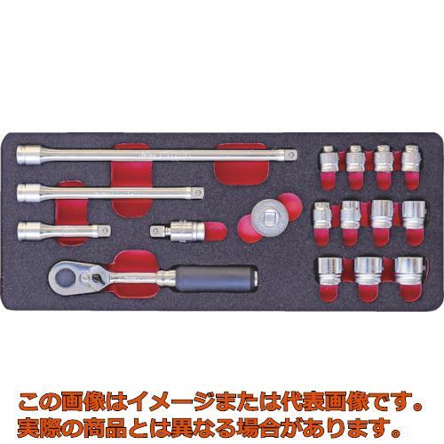 コーケン 6.35mm差込 Z-EALソケットセット 2286Z