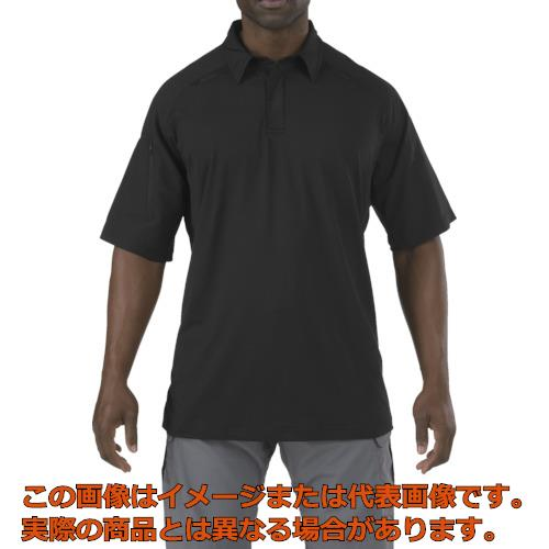 5.11 半袖 ラピッドパフォーマンスポロ ブラック L 41018019L