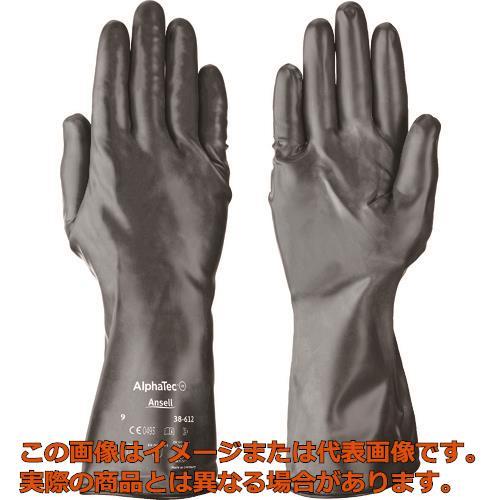 アンセル 耐薬品手袋 アルファテック 38-612 Lサイズ 386129