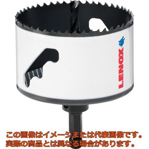 LENOX スピードスロット 軸付 バイメタルホールソー 118mm 5121051