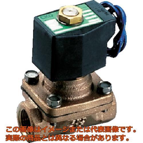 CKD パイロット式2ポート電磁弁(マルチレックスバルブ)162[[MM2]]/有効断面積 AP1120A03AAC200V