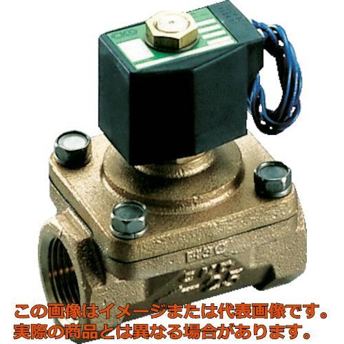 CKD パイロット式2ポート電磁弁(マルチレックスバルブ)162[[MM2]]/有効断面積 AP1120AC4AAC100V