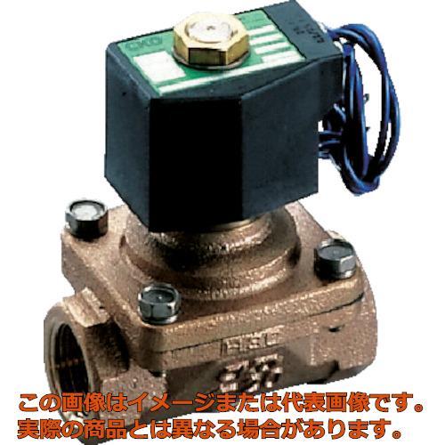 CKD パイロットキック式2ポート電磁弁(マルチレックスバルブ)162[[MM2]]/有効断面積 APK1120AC4AAC100V