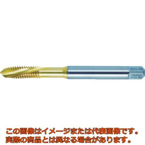 ヤマワ チタンコーティング通り穴用スパイラルタップ AU+SL P4 M20X2.5 AUSLP4M20X2.5