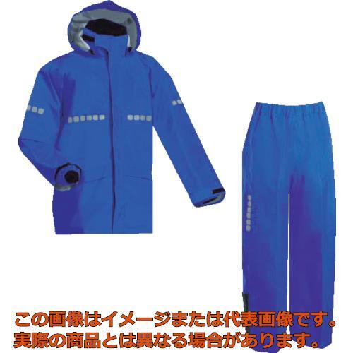 前垣 AP1000ワーキングレインスーツ ロイヤルブルー 5Lサイズ AP1000R.BLUE5L