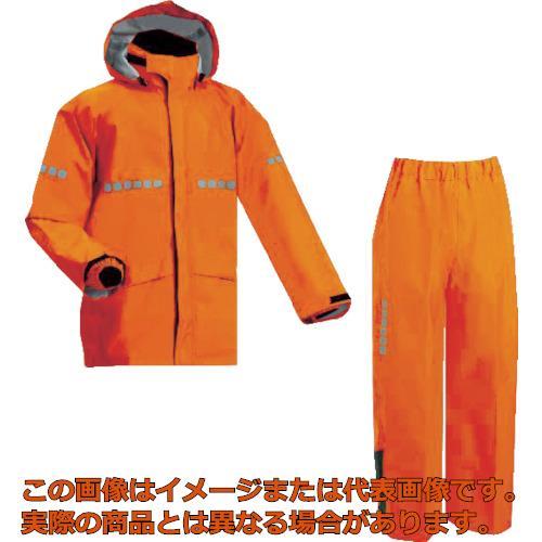 前垣 AP1000ワーキングレインスーツ レスキューオレンジ ELサイズ AP1000R.OREL