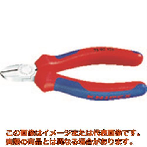 KNIPEX 7605-125 エレクトロニクスニッパー 7605125