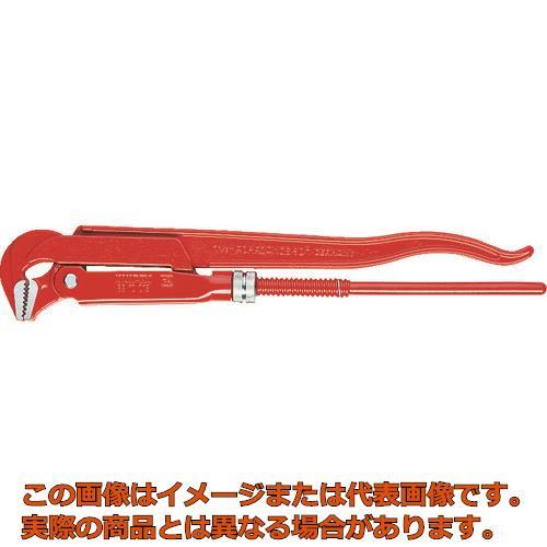 公式 8310040:工具箱 店 KNIPEX 8310−040 パイプレンチ(90゜)-DIY・工具