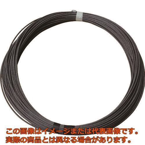 TKK TK-150WL専用交換ワイヤロープ ワイヤロープ φ5×71M (メッキ) 5X71MTK150WL