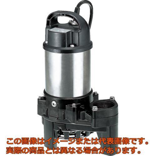 ツルミ 樹脂製雑排水用水中ハイスピンポンプ 60HZ 60Hz 50PN2.4S 60HZ