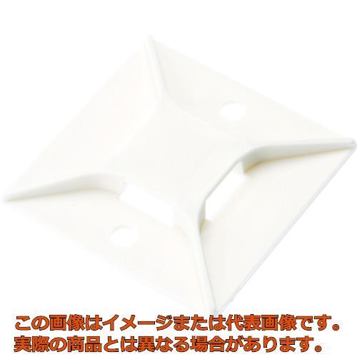 パンドウイット マウントベース M3ねじ止め 白 (200個入) ABM3HS6T