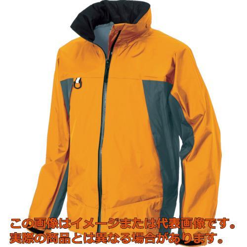 アイトス ディアプレックス レインウエア オレンジ L 56301063L