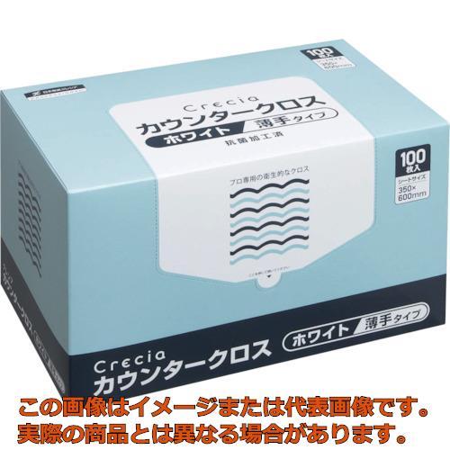 クレシア カウンタークロス 薄手タイプ ホワイト 65402