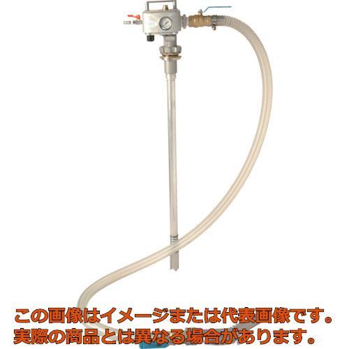 【代引き不可・配送時間指定不可】 アクアシステム 吐出専用 エア式ドラムポンプ オイル・油・給油 (加圧式) APD-25
