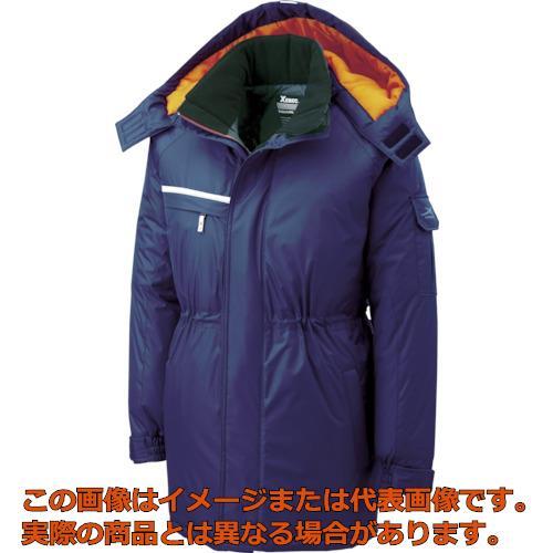 ジーベック 581581防水防寒コート 紺 L 58110L