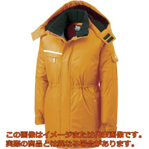 ジーベック 581581防水防寒コート オレンジ L 58182L