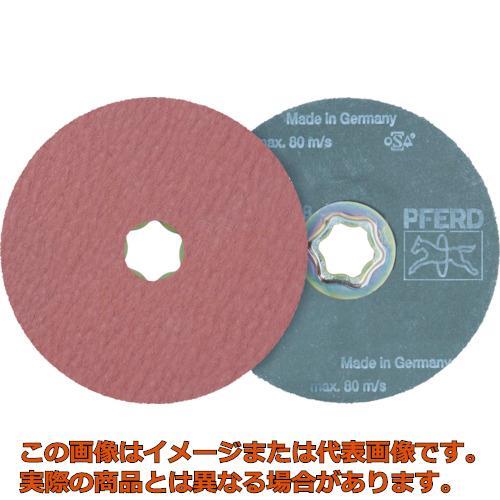 PFERD ディスクペーパー コンビクリック酸化アルミナ COOLタイプ 836187 25枚