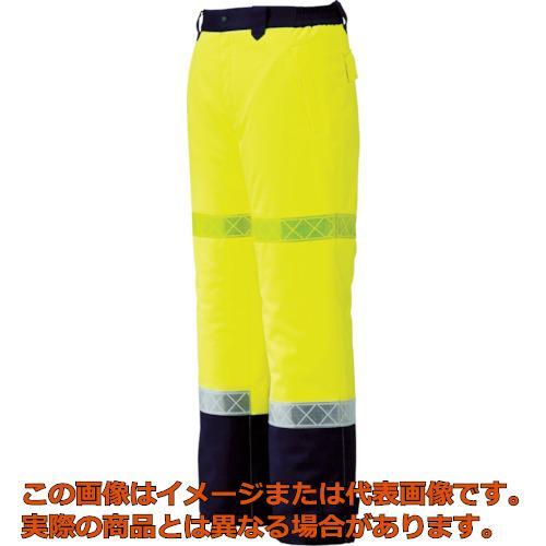 ジーベック 800 高視認防水防寒パンツ L イエロー 80080L