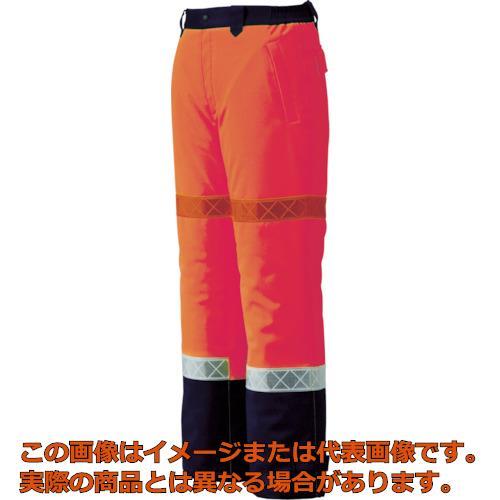ジーベック 800 高視認防水防寒パンツ LL オレンジ 80082LL