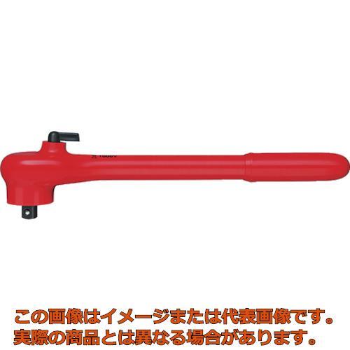 KNIPEX 9841 (1/2SQ)絶縁ラチェットハンドル 1000V 9841