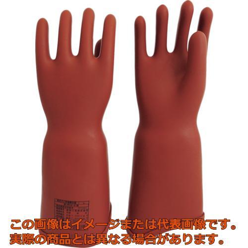 ワタベ 高圧ゴム手袋410mm胴太型S 550S