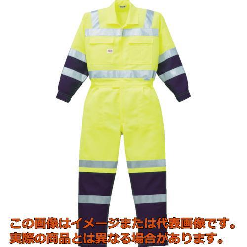 AUTO-BI 高視認ツナギ服 Mサイズ イエロー 7620YEM