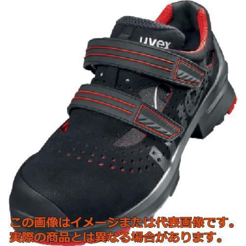 UVEX サンダル ブラック/レッド 26.0CM 8536.541
