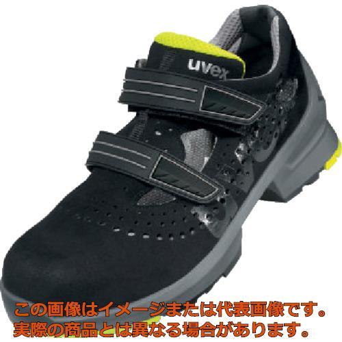 UVEX サンダル ブラック/ライム 25.5CM 8542.440