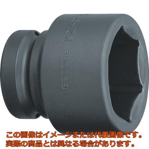 GEDORE インパクト用ソケット(6角) 1 K21 80mm 6184700