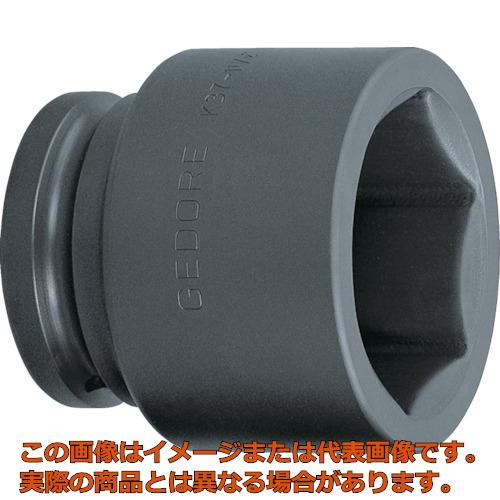 GEDORE インパクト用ソケット(6角) 1・1/2 K37 65mm 6328640