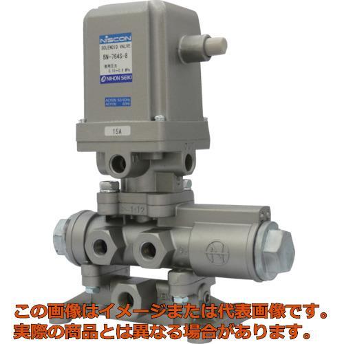 日本精器 4方向電磁弁 8A AC100V 76シリーズ BN764S8E100
