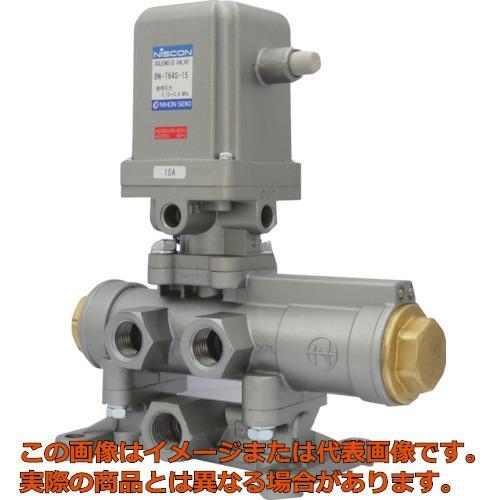 日本精器 4方向電磁弁15AAC200V76シリーズ BN764S15E200